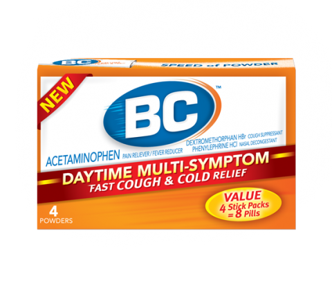 Bc Powder Cough And Cold Relief Relieves Common Cold Symptoms Fast